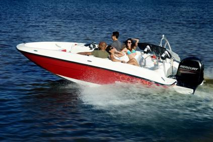 BAYLINER Element E6 + MERCURY F 60 ELPT EFI