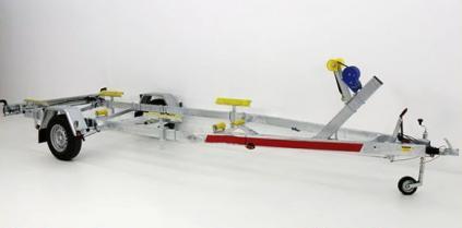 BOAT TEMA Trailers 1500 (na loď délky ca 6,5 m,uveze 1120 kg)