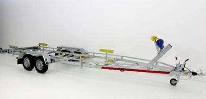 BOAT TEMA Trailers 2500 (na loď délky ca 8 m,uveze 2060 kg)