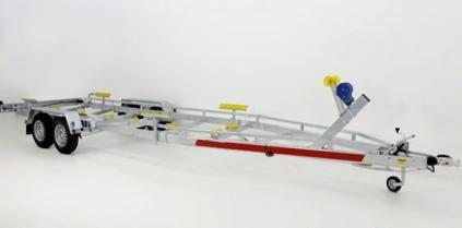 BOAT TEMA Trailers 3500 (na loď délky ca 9,5 m,uveze 2820 kg)
