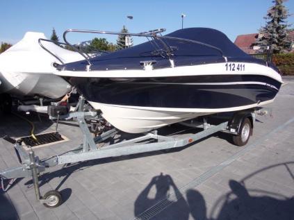 HONDA MAZURY 500 CABIN + HONDA BF 60 + vlek PONGRATZ 1300