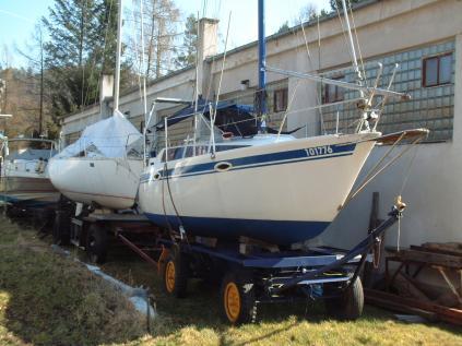 Kajutová námořní plachetnice Skipper