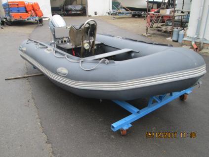Prodám nafukovací člun Bush Skate 410+Honda BF 20