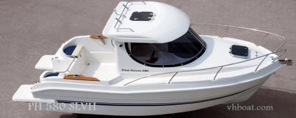 Motorový kajutový člun PH 580