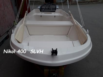 Rybářský  člun veslice loď Nikol 400