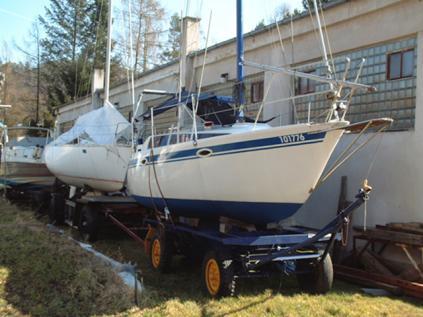 Kajutová plachetnice Skipper